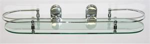 Glass Bathroom Shelf