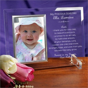 Gift For Godchild Personalized Picture Frame