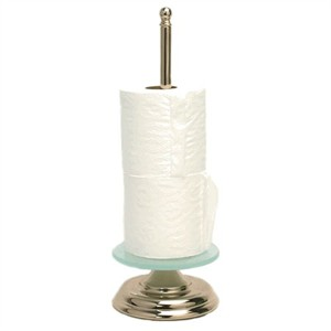 13K Gold Finish Toilet Paper Stand