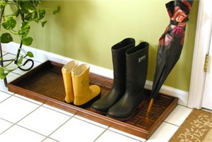 Good Directions Galvanized Steel Boot Tray