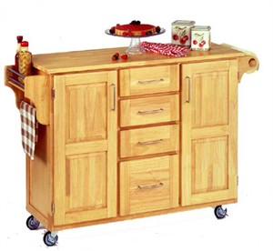 Homestyles 9100 Create a Cart Mobile Kitchen Island