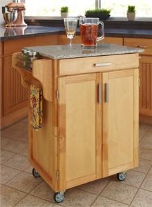 Homestyles 9001 Granite Top Mobile Cuisine Cart