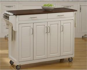 Home Styles 9200 Cherry Top Create-a-Cart II Kitchen Island