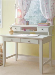Homestyles 5530-162 Naples Student Desk and Hutch