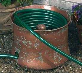 Copper Garden Hose Holder