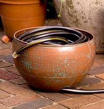 Copper Powder Coated Hose Pot