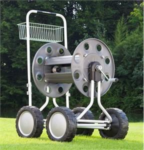 Claber 8900 Jumbo 4 Wheel Hose Cart