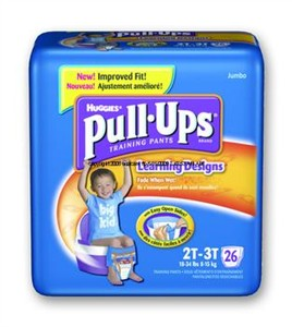 Huggies Pull-Ups Training Pants sold by the case