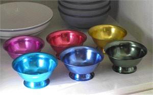 Aluminum Ice Cream Bowl Set