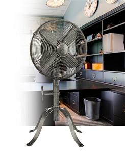 """Boum 10"""" Industrial Style Table Fan"""