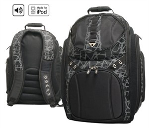 G-Tech 5248 Revolution Backpack with iPod ready Speaker Pack
