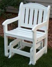 Prairie Leisure 48 Garden Glider Chair