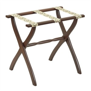 Scheibe 1300 Luggage Rack with Petit Point Braid Straps