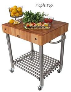 John Boos CUCD15 Cucina D'Amico Kitchen Cart