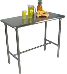 John Boos BBSS4830SS Cucina Classico Work Table