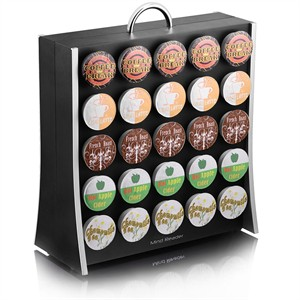 Single Serve K Cup Capsule Holder for 50 Capsules