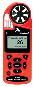 Kestrel 4200 Air Flow Tracker with Bluetooth