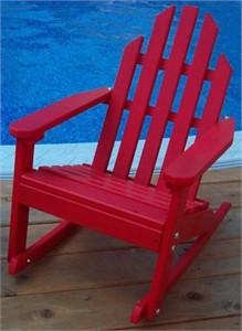 Kiddie Size Adirondack Rocking Chair