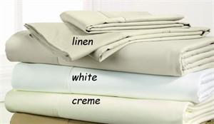 King Size Sateen Sheet Set