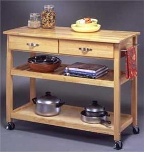 Homestyles 5216-95 Kitchen Cart