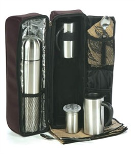 Cafe Chalet 2 Person Coffee Tote