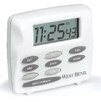 Kitchen Timers : West Bend 40053 Triple Timer