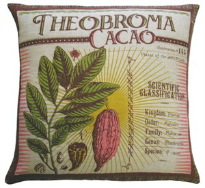 Koko 91801 Theobroma Cacao Botanica Pillow