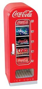Koolatron CVF-18 Coca-Cola Retro Vending Fridge