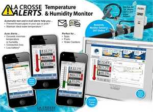La Crosse Alerts System with Hot Tub Accessory Pack