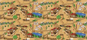 Learning Carpets - Frontier Town