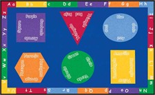 Learning Rug - Bilingual Rectangle Small