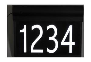 Custom Illuminated LED 14 x 9.5  House Number Sign