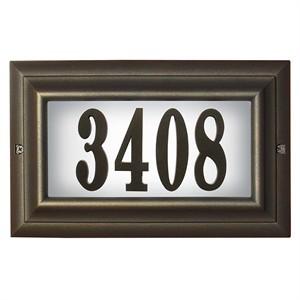 Qualarc LTL-1301-LED2 LED Lighted Address Number Sign