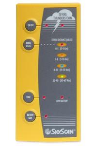 Skyscan P5 Lightning Detector Storm Detector