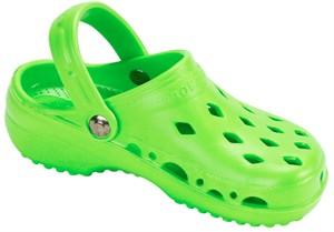 Children's NothinZ Plastic Clog Lime Green