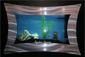 Bayshore Aquarium Living Art Wall Mount Aquarium