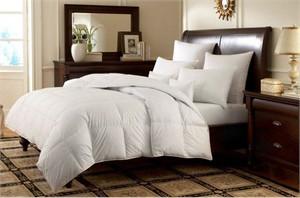 Logana Luxury White Goose Down Comforter
