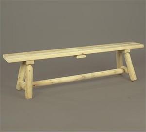 Straight Cedar Bench
