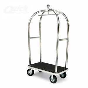 Forbes 2525 Stainless Steel Hotel Luggage Cart