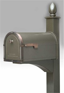 Architectural Mailboxes 5505 Coronado Curbside Mail Box