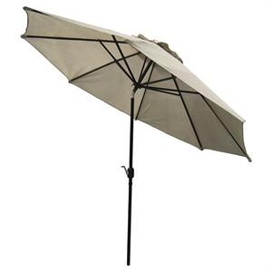 UV Blocking 11' Round Market Umbrella