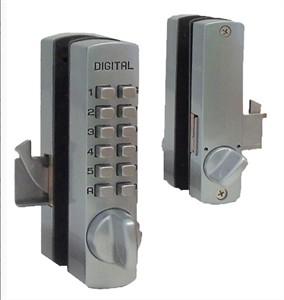 Mechanical Keyless Narrow Hook Bolt Lock for Cabinets