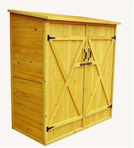 Medium Size Wood Storage Shed