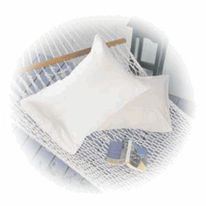 Medium Pearl White hypodown pillow