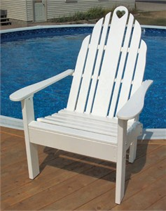 Adirondack Chair with Easy In Easy Out Styling