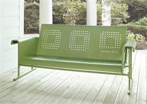 Metal Glider Sofa