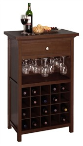 Wine Cabinet with wine glass holder
