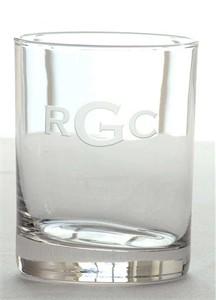Monogrammed Bar Glasses