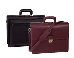 Monogrammed Legal Briefcase