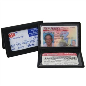 Monogrammed ID Card Holder